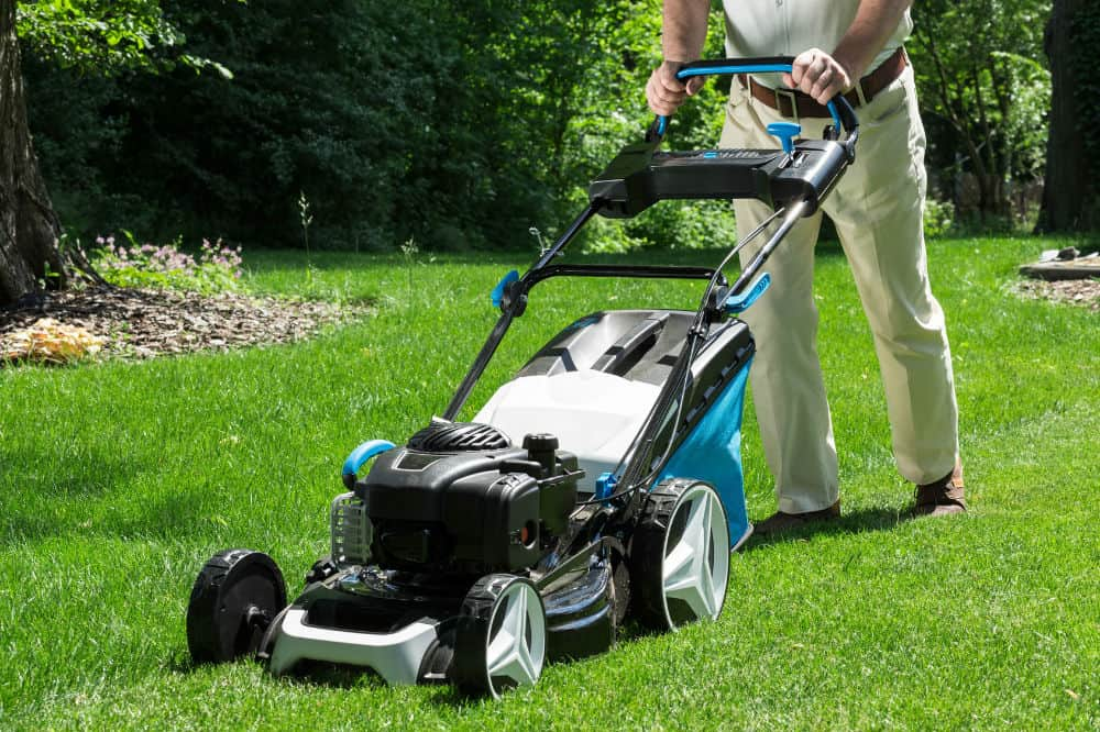 when to buy lawn mower